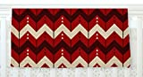 KESS InHouse Nick Atkinson ''Chevron Dance Red'' Fleece Baby Blanket, 40'' x 30''