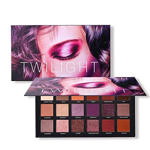 UCANBE 18 Color Eyeshadow Palette, Highly Pigmented 8 Matte + 10 Shimmer Eye shadows, Waterproof Long Lasting Makeup Pallet ()