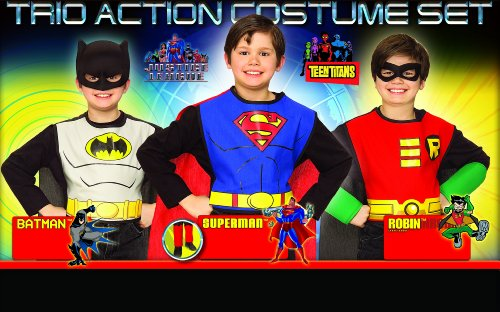 Comics Boys Action Superhero Costume