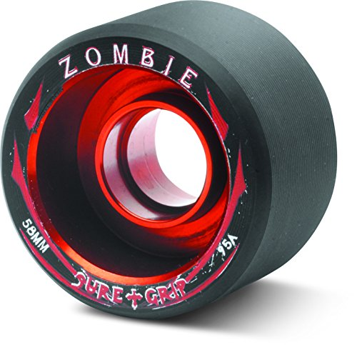 Sure-Grip Zombie Wheels Low 59mm 95a - Red Hub ()