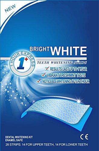 28 WHITESTRIPS White Stripes Zahnaufhellung-Streifen für weißere Zähne, mit Advanced no-slip Technology, Bleaching, Zahnweißstreifen