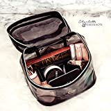 Florence Cosmetic Bag - Black Transparent Makeup