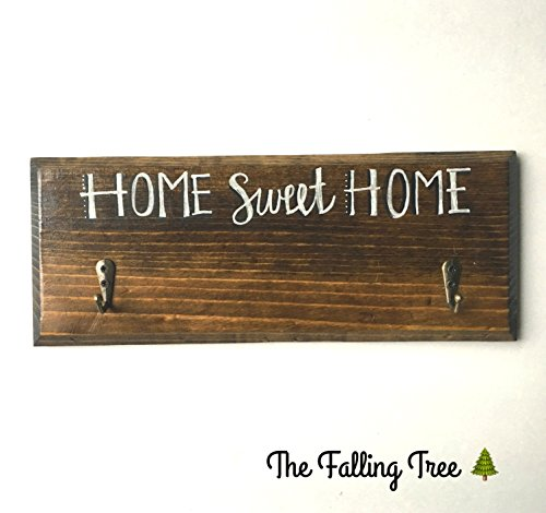 Home Sweet Home Key Rack or Coat Hanger
