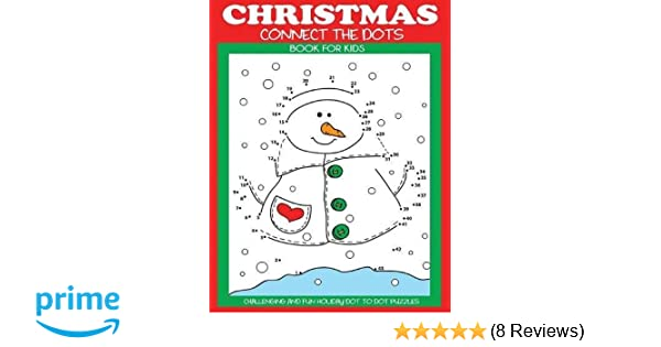 Christmas Connect.Christmas Connect The Dots Book For Kids Challenging And