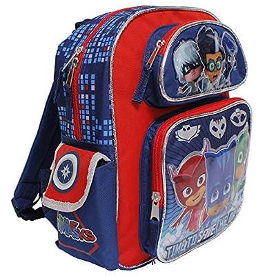 PJ Mask 12 inch Small Children School Backpack - Catboy Owlette Gekko Romeo | Kids' Backpacks