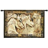 Fine Art Tapestries ''Messengers of Spirit'' Wall Tapestry