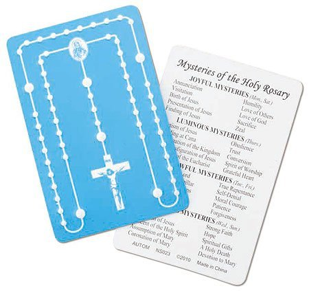 - Unique Credit Card rosary