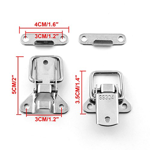 Stainless steel toggle clamps latch clamp latches