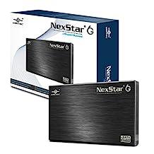 """Vantec 2.5"""" SATA 6Gb/s to USB 3.0/eSATA HDD Enclosure (NST-266SU3-BK)"""