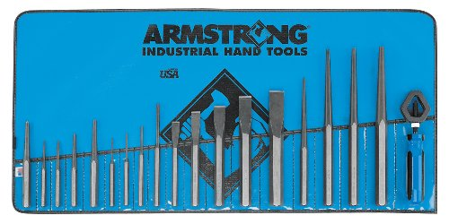 Armstrong 70-567 19 piece Punch and Chisel Set by Apex Tool Group