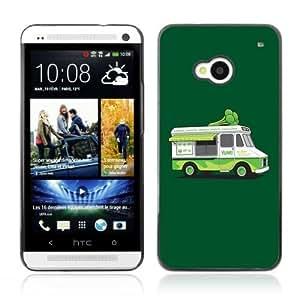 YOYOSHOP [Funny Vegeterian Brocoly Truck] HTC One M7 Case