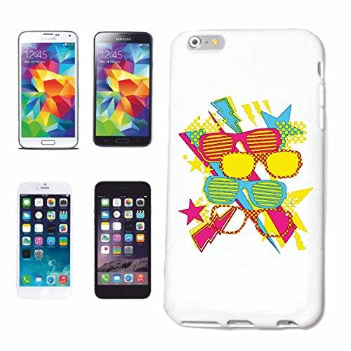 """cas de téléphone iPhone 6+ Plus """"PRESCRIPTION GRAFFITI TECHNO LUNETTES CORRECTRICES FRAME VERRES Lunettes de soleil Lunettes de lecture GLEIDSICHTBRILLE"""" Hard Case Cover Téléphone Covers Smart Cover p"""