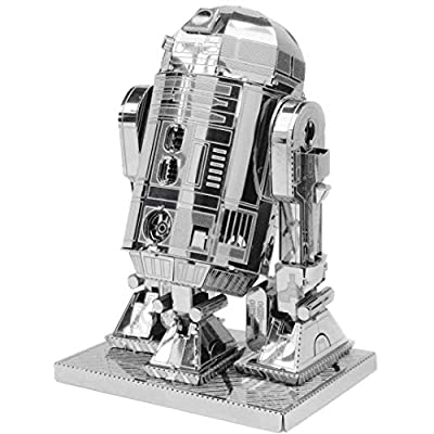 Fascinations Metal Earth 3D Metal Model Kits Star Wars Droid Set of 4 R2-D2 - C-3PO - K-2SO - BB-8: Toys & Games