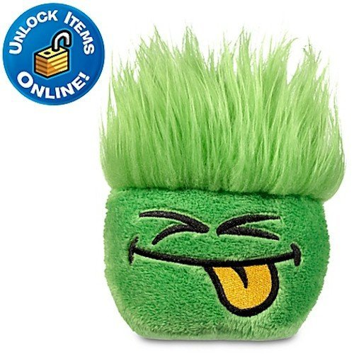 Club Penguin Green Pet Puffle Plush -- 5'' Height - NEW Series 11 by Club - Puffle Green Pet