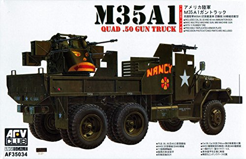 (M-35A1 Vietnam Multiple Gun Truck 1-35 AFV Club)