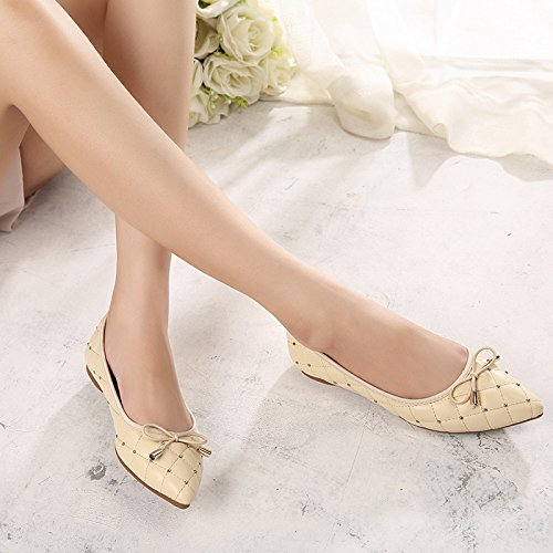 Pointed Suede thin heels High shoes Fine A Women's CZ8tqH