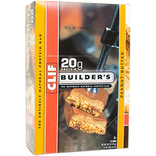 Clif Bar Builder's Protein Bars, Chocolate, 12 ()