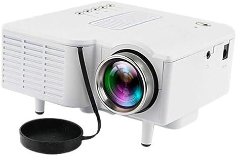 Opinión sobre QK Mini Proyector Portátil,Proyector Cine en Casa Full HD 1080P Pantalla de 20-80