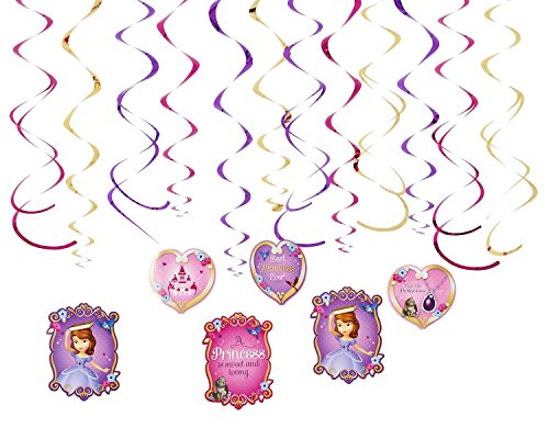 Foil Swirl | Disney Sofia The First Collection | Party Accessory -