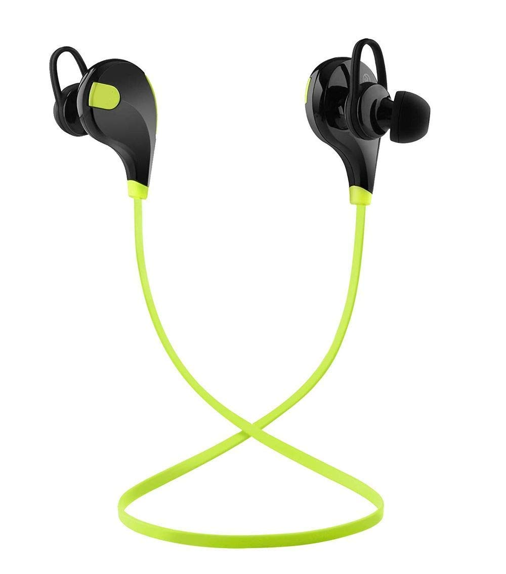 Amazon.com: Toysdone Wireless Headphones Stereo Earbuds Wireless Sport  Earphones for Running with Mic (6 Hours Play Time, IPX4 Sweatproof, Secure  Ear Hooks ...