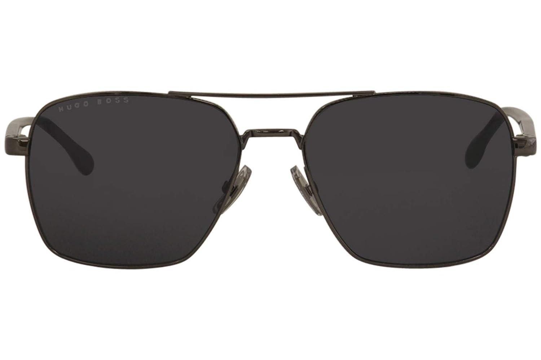 Amazon.com: Gafas de sol Boss Negro 1045/S 0V81 Oscuro ...