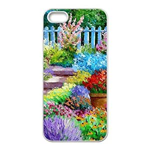 Personalized Creative Cell Phone Iphone 6 Plus (5.5 Inch),glam flower nursery scene painting
