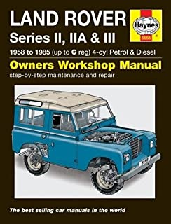 land rover series iii owners manual official handbooks amazon co rh amazon co uk land rover defender owners manual land rover owners manual pdf