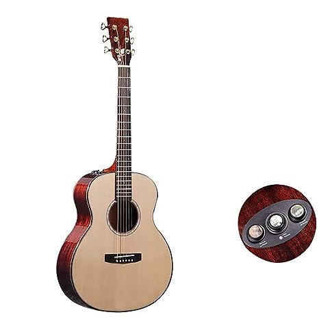 NUYI Guitarra De Un Solo Tabler Spruce Veneer Mahogany Veneer ...
