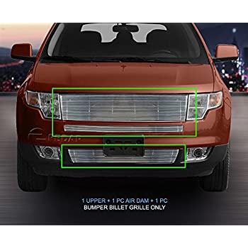 Fedar   Ford Edge Replacement Style Billet Grille Grill  Pc Set Polished
