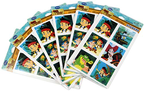 Ziggos Party Jake and the Never Land Pirates Stickers Super Value Pack (144ct)]()