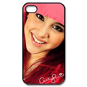Customize Famous Singer Ariana Grande Back Case for iphone 4 4S JN4S-1939 Kimberly Kurzendoerfer