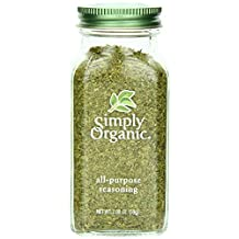 Simply Organic Bottled Spices-All Purpose Seasoning, 59g
