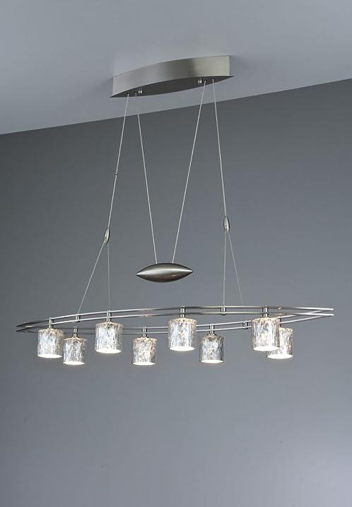 Holtkoetter 5508 sn g5031 halogen low voltage contemporary chandelier 8 light satin