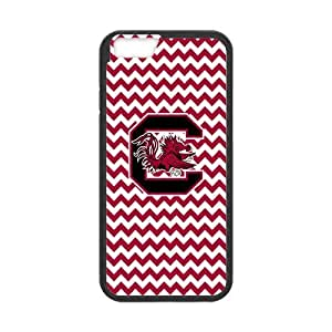 Fashion Chevron Wave Pattern NCAA iPhone6 4.7 Logo Case TPU and Durable Plastic
