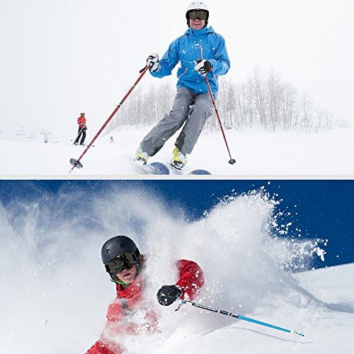 7c322f7a70582 Dedeka Ski Snowboard Lunettes de Natation Anti-Buée Protection UV400  ventilé Lunettes de Ski et Snowboard