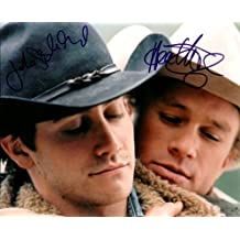 Heath Ledger Autographed Signed 8 X 10 Reprint Photo From the Movie Brokeback Mountain - (Mint Condition)