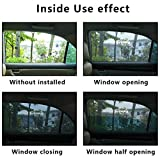 Universal Fit Car Side Window Baby Sun Shade (2 Pack) | Protects Your Baby and Older Kids from the Sun, Fits All (99%) Cars! Most SUVs! | Travel eBook Included!