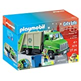 Playmobil Green Recycling Truck Playset