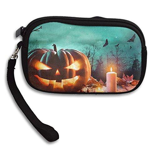 Musique Halloween Qui Fait Peur Mix Travel Passport Wallet,New Design Multi-function Purse,Card Holder Cell Phone Key Bag,Long Zipper Wallet Handbag.