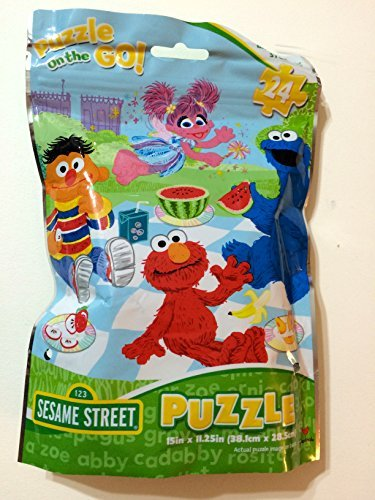 Sesame Street Puzzle on the Go! 24 Piece Picnic -