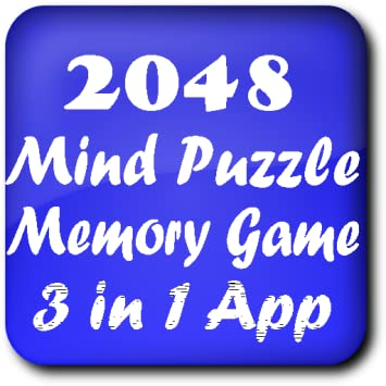 Amazon com: 2048, Slide Puzzle, Memory Game: Appstore for Android