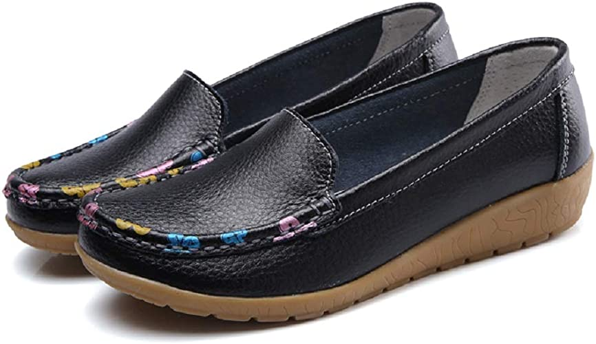 Fancybox Ladies Leather Loafers Flat