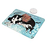 Flying Angel Pig Animal Art by Denise Every Glass Cutting Board
