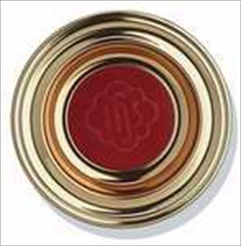 Artistic Manufacturing 922168 Offering Plate Deluxe Metal Solid Brass Red Ihs 12 In.