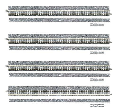 TOMIX Nゲージ 1767 ワイドPCレールS280-WP (F) (ポイント分岐用) (4本セット)