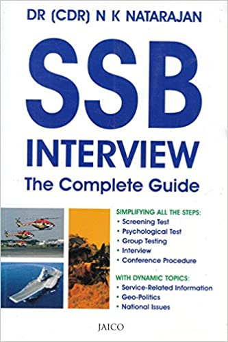 Buy Ssb Interview The Complete Guide Book Online At Low Prices In India Ssb Interview The Complete Guide Reviews Ratings Amazon In