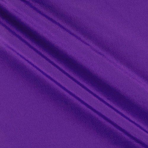 Ben Textiles Peachskin Fabric by The Yard Purple