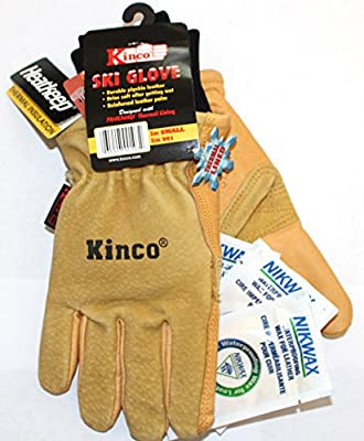Kinco 901 Small - Ski Glove - Work Glove - Nikwax Waterproofing Wax (3-Sachets)