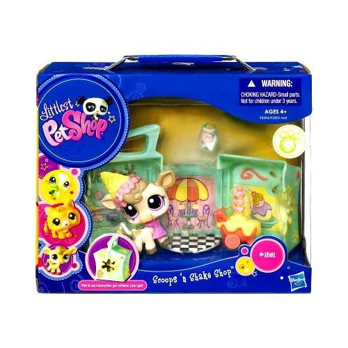 Hasbro Littlest Pet Shop Scoops 'n Shake Shop