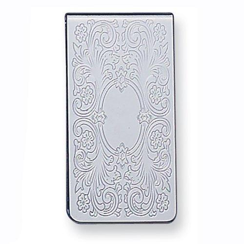 Silver-tone Money Clip